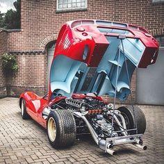 Ferrari 330 P4 - Beast. #ferrarivintagecars #ferrariclassiccars