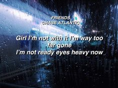 FRIENDS - CHASE ATLANTIC • this song is a bop credit me if you repost 💙