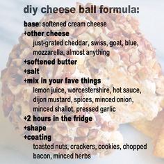 And it is very easy to make. | 23 Most Glorious Balls Of Cheese You've Ever Seen