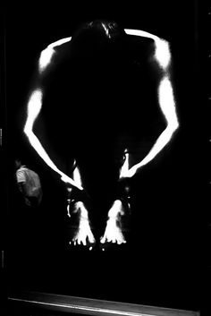 Massimo Raldeni - Back in Black, 2012. ---Reminds me of a Kodalith print