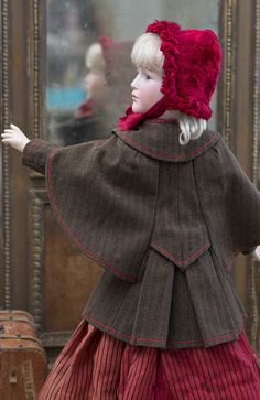 46 см Редчайшая характерная кукла -леди Bawo & Dotter, 213 - на сайте антикварных кукол.