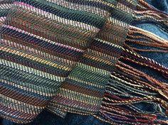 Ravelry: Bks4JHB's Greenish scrap scarf
