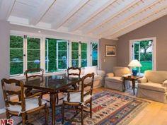 Leonardo DiCaprio's Malibu Home: Guesthouse Living Room