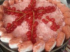 charlotte légère aux fruits rouges (sans gélatine)