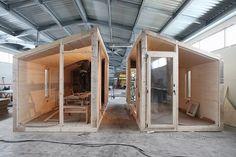 Prefab Cabins, Prefab Homes, Log Homes, Backyard Office, Garden Office, Barbecue Design, Studio Shed, Shelter Design, Cottage Renovation