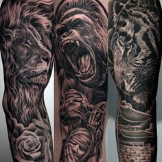 Resultado de imagem para Sleeve Tattoos