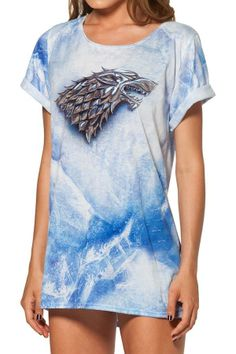 Black Milk Clothing HBO Game Of Thrones Collection / House Stark BFT