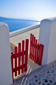 Red Gate - Santorini