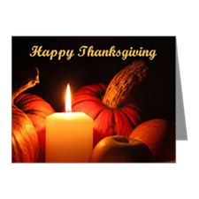 Happy Thanksgiving Note Cards