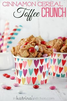 Cinnamon Cereal Toffee Crunch - EVERYONE will be asking you for this recipe!