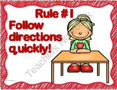 Whole Brain Teaching 5 Rules, Posters & Scoreboard from Teaching Superkids on TeachersNotebook.com -  - Whole Brain Teaching 5 Rules, Posters, Scoreboard & Super Improver Word Wall cards