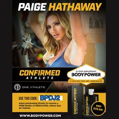 Big announcement from the Bodypower team!! One of the biggest female fitness models and icon PAIGE HATHAWAY is confirmed to be at Bodypower with One Athletic. At the Bodypower expo you'll have the chance to meet her and will be able to find her on stand J55 at the Bodypower show. Paige Hathaway, found a+ Read More