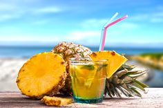 Przepis na drink ananasowy song
