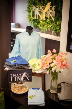 Men's Linen shirts at Tropic Of Linen Boutique. TropicOfLinen