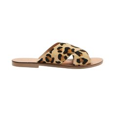 Holiday Cross Strap Leopard Sandals, Topshop $45
