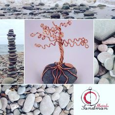 #SandmanMetals #stoneart #lakestones #lakeontario #thegreatlakes #nyartist #rockart #earringorganizer #wirework #wireart #copperjewelry #wirejewelry #handmade #narcolepsyawareness #etsy #etsyseller
