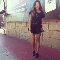 Song of style black dress
