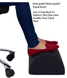foot rest cushion to relieve knee pain tired aching u0026 sore feet