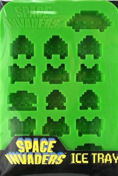 Space Invaders: Ice Cube Tray