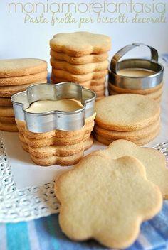 Pasta frolla per biscotti decorati