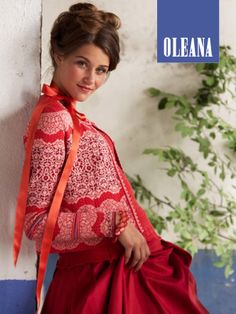 "OLEANA Collection Catalogue Cover ""News SS/12"""