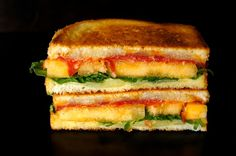 Sugar Kiss Melon and Chorizo-Manchego Grilled Cheese Recipe – weekend recipes