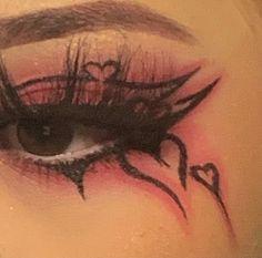 Punk Makeup, Dope Makeup, Edgy Makeup, Baddie Makeup, Grunge Makeup, Eye Makeup Art, No Eyeliner Makeup, Crazy Makeup, Pretty Makeup