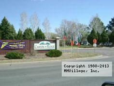 Canyon Ridge Mobile Home Park In Colorado Springs CO