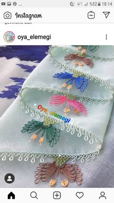 Hand Embroidery Stitches, Needle Lace, Baby Knitting Patterns, Bargello, Herbs, Embroidered Cushions, Embroidery