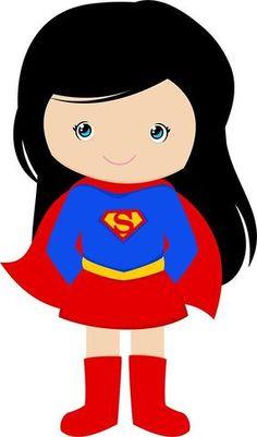 Menina Superman Morena | #daJuuh