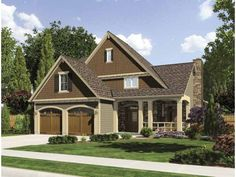 Craftsman House Plan with 1959 Square Feet and 3 Bedrooms(s) from Dream Home Source | House Plan Code DHSW67005
