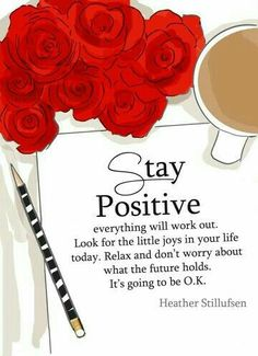 Positive thinking will let you do everything better than negative thinking will. Gøød Mørning Friends! Happy Weekend!