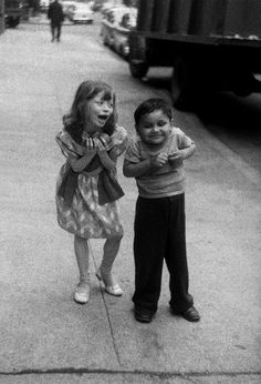 Child Teasing Another, NYC, Photo by Diane Arbus, 1960