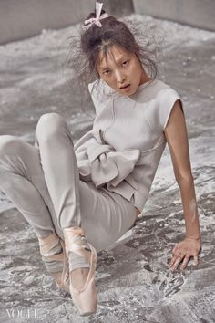 Kim Sung Hee by Kim Bosung for Vogue Korea Feb 2015