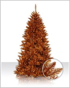 Copper Spruce Christmas Tree www. Copper Spruce Christmas Tree www. Spruce Christmas Tree, Pre Lit Christmas Tree, Unique Christmas Trees, Christmas Gift Decorations, Christmas Tree Themes, Xmas Tree, All Things Christmas, Christmas Holidays, Spruce Tree