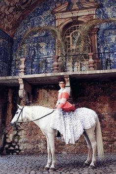 www.pegasebuzz.com   The Horse Fashion : Paulina Kube by Marcin Kempski for Harper's Bazaar Poland, june 2013