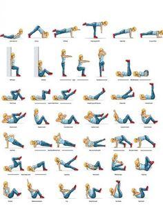 ejercicios para trabajar el vientre :)