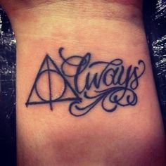 Always- Deathly Hallows. Don't know if I should post this in fandom, geek stuff, or tattoo....