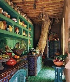 I want a tree growing thru my kitchen!