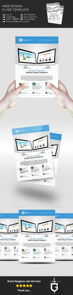 Creative Web Agency Flyers Flyers, Creative and Http\/\/www - web flyer template