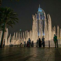 Fountain-Dubai Mall