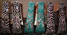 I need the end one the zebra with pink diaomonss n the middle. Yeah they would match my saddle so well!