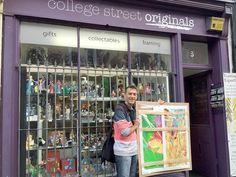 Dropping my 4 fine art prints off to my local framers - ready for Sue Ryder Art Affirming Life Exhibition in October in Cheltenham UK #ukart #ukartist #jasongardnerconway #floralartist #ilovenature #sueryder #leckhamptoncourthospice #contemporaryart #digitalartist