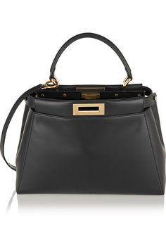 6337bbc068f0 Fendi - Peekaboo medium leather tote
