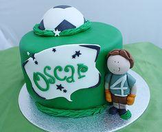 "Pastel ""Una fiesta futbolera""de Ilusiona cakes."