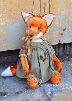 Matilda the Fox /RESERVED/ by Dulcineabears on Etsy