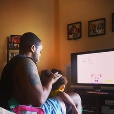 Do their daughter's hair. | 19 Things Dads Do That You Won't See In Popular Culture