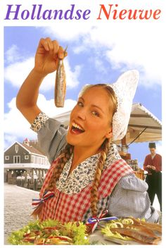 "Hollandse Nieuwe Haring. In June of every year, the ""newest"" herring season…"