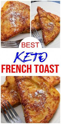 Check out this keto french toast. Easy keto recipes for the BEST 90 second bread low carb keto french toast . Learn how to make keto french toast w/ this ketogenic diet microwave 90 second bread… Keto Desserts, Keto Snacks, Dessert Recipes, Recipes Dinner, Crepe Recipes, Plated Desserts, Dessert Ideas, Ketogenic Diet Meal Plan, Ketogenic Recipes