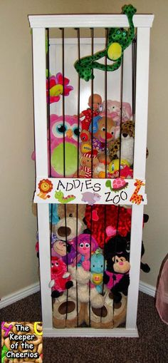 Stuffed Animal Zoo | Toy Storage Solutions For A Well-Organized House